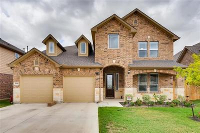 Pflugerville, Round Rock Single Family Home For Sale: 20416 Shellduck Dr