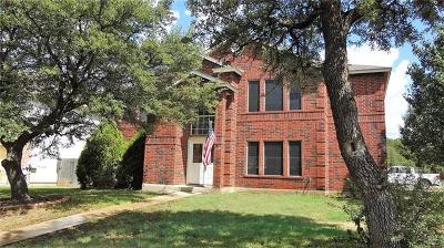 Cedar Park Single Family Home For Sale: 2110 Rachel Rdg
