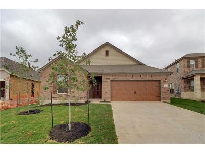 Leander Single Family Home For Sale: 1229 Ravenside Cv