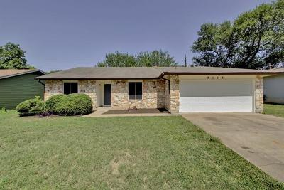 Single Family Home For Sale: 9102 Texas Oaks Dr