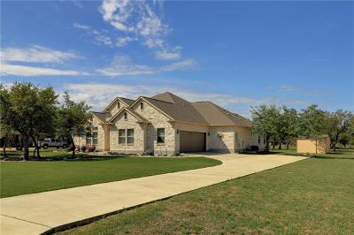 Liberty Hill Single Family Home For Sale: 113 Quarry Park Cv