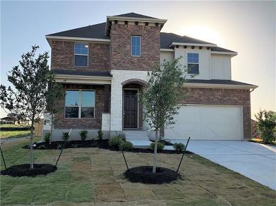 Round Rock Single Family Home For Sale: 6700 Leonardo Dr