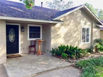Travis County, Williamson County Single Family Home For Sale: 10106 Woodland Village Dr