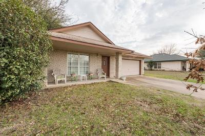 Leander Single Family Home Pending: 816 Eagles Way