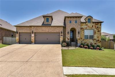 Round Rock Single Family Home For Sale: 100 Blue Spruce Way