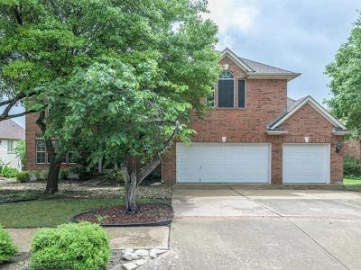 Round Rock Single Family Home For Sale: 2003 Golden Bear Dr