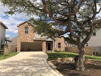 Leander Single Family Home For Sale: 109 Pine Island Ln
