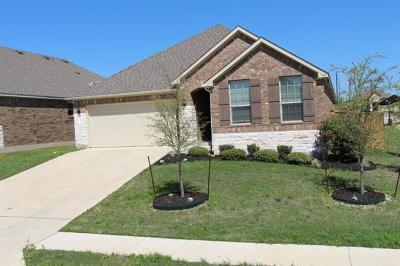 Round Rock TX Single Family Home For Sale: $284,000