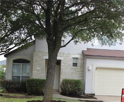 Round Rock Single Family Home For Sale: 3312 Tyler Ct