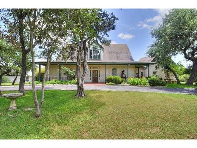San Marcos Single Family Home For Sale: 701 Blanco River Ranch Rd