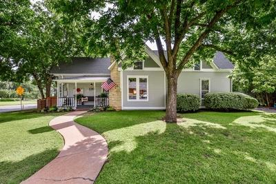 Single Family Home For Sale: 1201 Hutto Rd