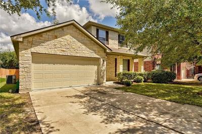 Pflugerville Single Family Home For Sale: 3900 Veiled Falls Dr