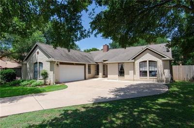 Cedar Park Single Family Home Pending - Taking Backups: 303 Orchid Cir