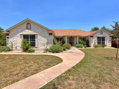 Lago Vista Single Family Home For Sale: 4310 Rimrock Ct