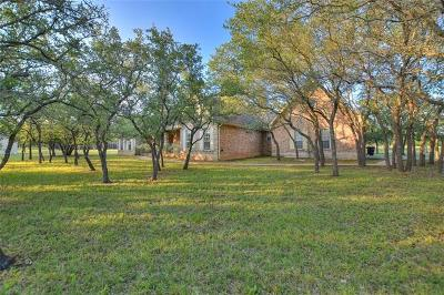 Round Rock Single Family Home Pending - Taking Backups: 5410 Live Oak Cv