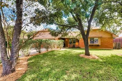 Hays County, Travis County, Williamson County Single Family Home Pending - Taking Backups: 7207 Trace Chain Dr