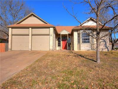 Travis County Single Family Home Pending - Taking Backups: 14906 Alpha Collier Dr