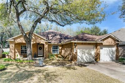 Cedar Park Single Family Home Pending - Taking Backups: 1327 Nightingale Dr