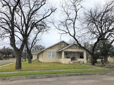 Lampasas Single Family Home Pending - Taking Backups: 208 S Broad St