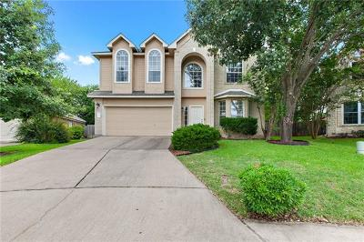 Round Rock Single Family Home For Sale: 8147 Hawick Dr