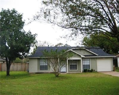 Austin Single Family Home For Sale: 1304 Althea Ct