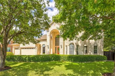 Round Rock Single Family Home Pending - Taking Backups: 16608 Malaga Hills Dr