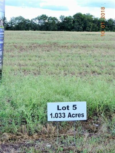 Taylor Residential Lots & Land For Sale: 1020 Old Thorndale