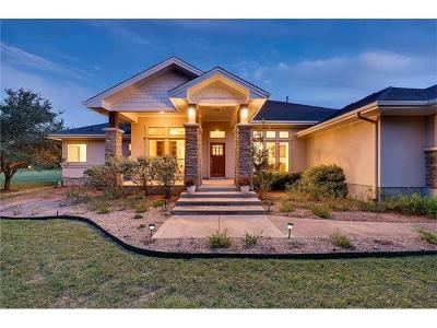 Liberty Hill Single Family Home For Sale: 240 N Showhorse Dr