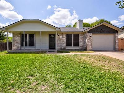 Austin TX Single Family Home For Sale: $208,900