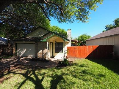 Austin Single Family Home For Sale: 11613 Fruitwood Pl