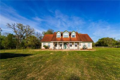 Bastrop Single Family Home For Sale: 183 Three Oaks Ln