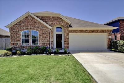 Hutto Single Family Home For Sale: 400 Hibiscus Dr