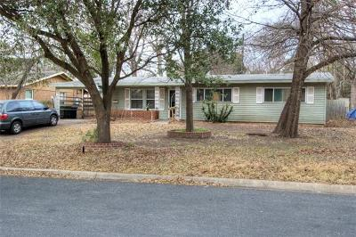Hays County, Travis County, Williamson County Single Family Home Pending - Taking Backups: 4802 Philco Dr