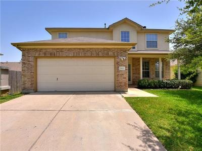 Pflugerville, Round Rock Single Family Home For Sale: 3800 Hidden Lake Xing
