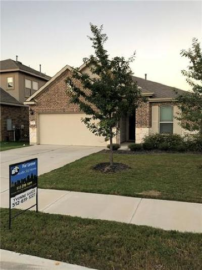 Leander Rental For Rent: 516 Rancho Verde Dr