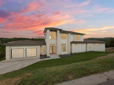 Leander Single Family Home For Sale: 7900 Lake Mountain Ln
