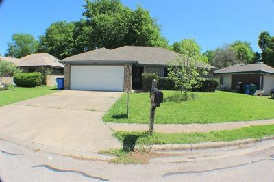 Pflugerville Single Family Home For Sale: 16407 Parkway Dr