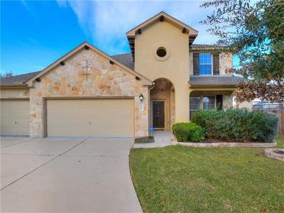 Pflugerville Single Family Home For Sale: 3404 Peat Moors Cv