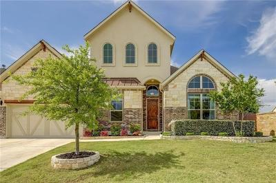Leander Single Family Home For Sale: 3809 Carya Dr