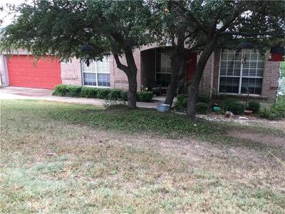 Lago Vista Single Family Home For Sale: 4722 Country Club Dr