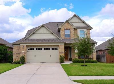 Cedar Park Single Family Home Active Contingent: 2305 Allison Way