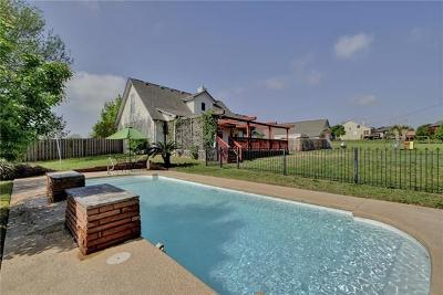 Hutto Single Family Home Pending - Taking Backups: 205 Morningside Cir
