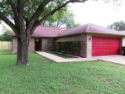 Pflugerville Single Family Home For Sale: 16307 Parkway Dr