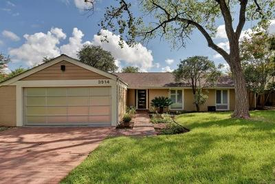 Travis County Single Family Home Pending - Taking Backups: 3514 Lakeland Dr