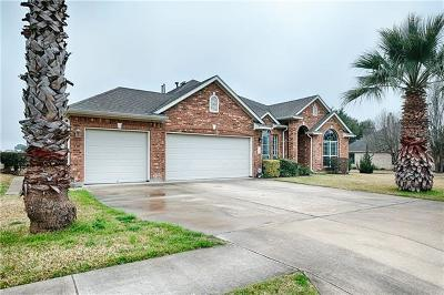 Pflugerville Single Family Home For Sale: 19601 Kennemer Dr