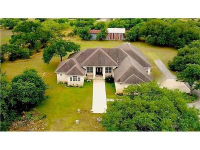 Buda Single Family Home For Sale: 16164 Oak Grove Rd