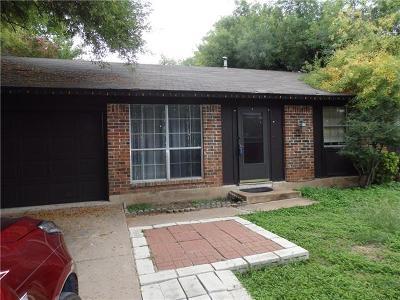 Austin Single Family Home Pending - Taking Backups: 6519 Pevensey Dr