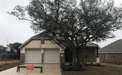 Leander Single Family Home For Sale: 2012 Bear Creek Dr