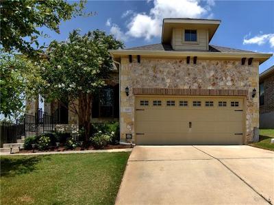 Round Rock Single Family Home For Sale: 120 W Adelanta Pl