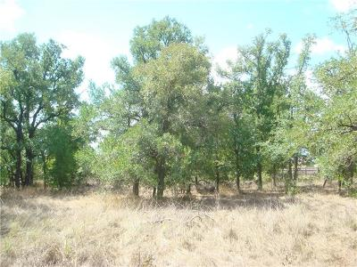 Cedar Creek Residential Lots & Land For Sale: 145 Lot D Martin Crossing
